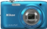 Nikon Coolpix S3100 Blue