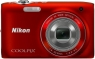 Nikon Coolpix S3100 Red