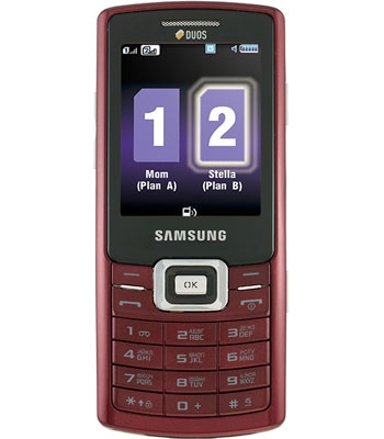 SAMSUNG  C5212 Ruby red