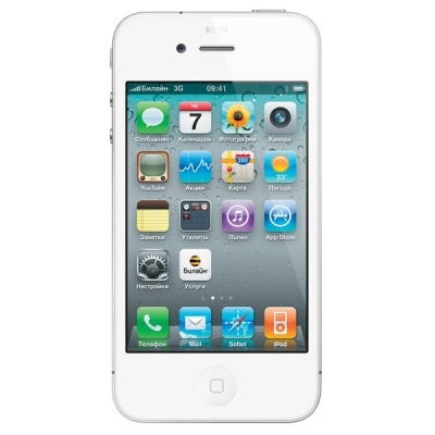 Apple iPhone 4 3G 8Gb Белый