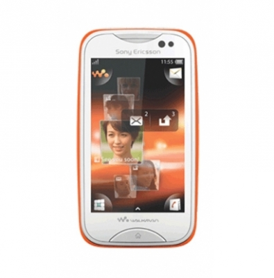 Sony Ericsson WT13i/MixWalkman White/Orange