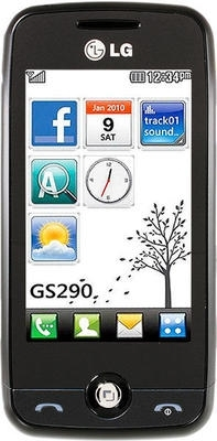 LG  GS290 Silver
