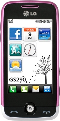 LG  GS290 Purple white