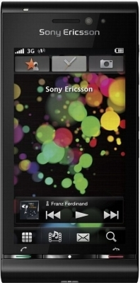 Sony Ericsson  U1i Black 16Gb