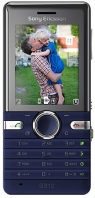 Sony Ericsson  S312 Dawn blue