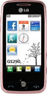 LG  GS290 ALL baby pink