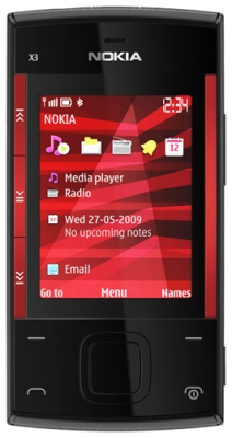 NOKIA  X3 NMS Black/red