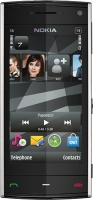 NOKIA X6-00 Black 8Gb