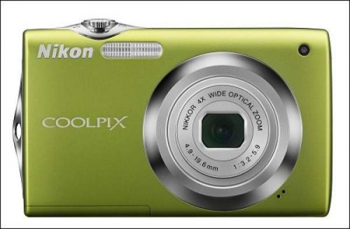 Nikon Coolpix S3000 green