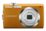 Nikon Coolpix S3000 orange