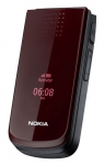 NOKIA  2720a-2 Game deep red