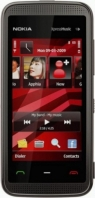 NOKIA  5530 Black red