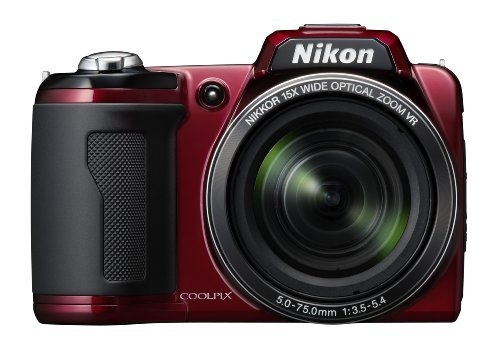 Nikon Coolpix L110 red