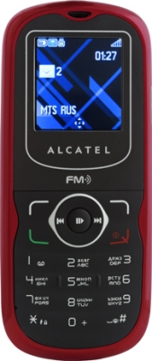 Alcatel OT305 Cherry red
