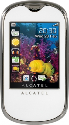 Alcatel OT708 White