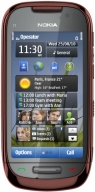 NOKIA C7-00 Manogany Brown