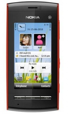 NOKIA 5250 Red