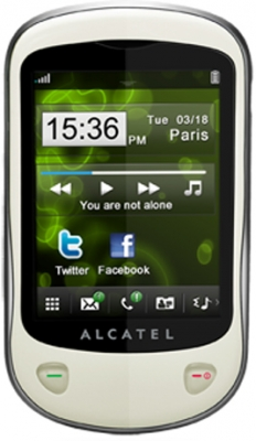 Alcatel Alcatel-OT710 White