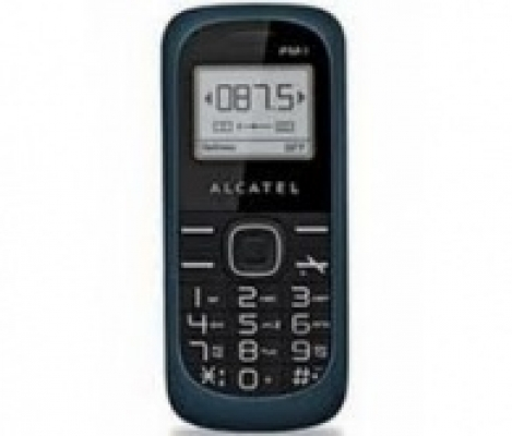 Alcatel OT-113 Grey blue