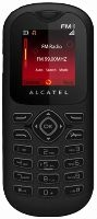 Alcatel OT-208 Black Grey