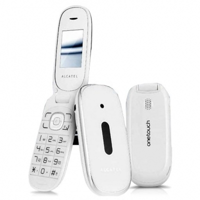 Alcatel OT-665 Pure White