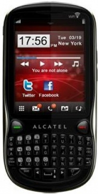 Alcatel OT-806D Black